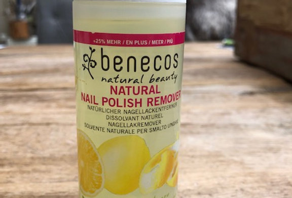 Natuurlijke nagellak remover Benecos