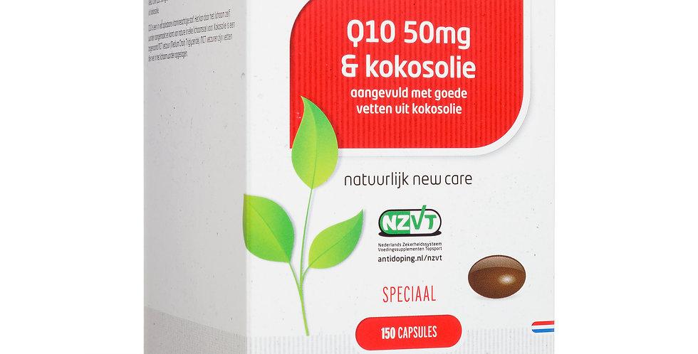 Q10 50 mg & kokosolie 150 capsules
