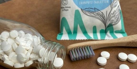 Tandenpoets tabletten 125 no fluoride