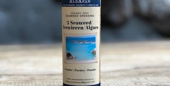 5-zeewieren poeder 40gr Algaran
