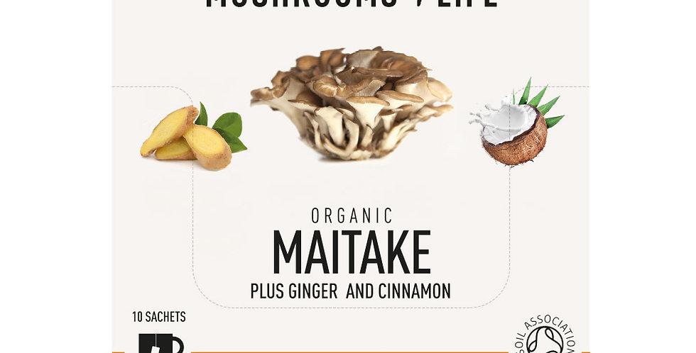 Maitake – Gember Paddenstoelen Latte Sachet bio (1 zakje)