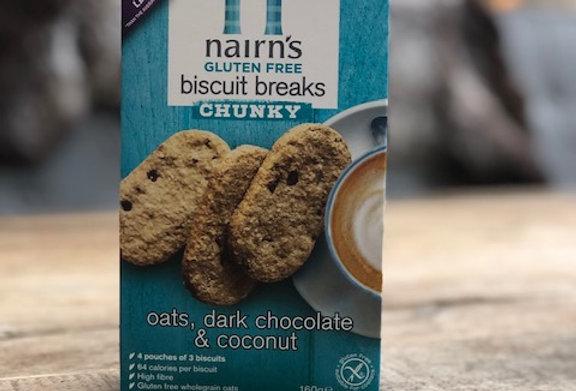 Nairns breakfast pure choc & kokos