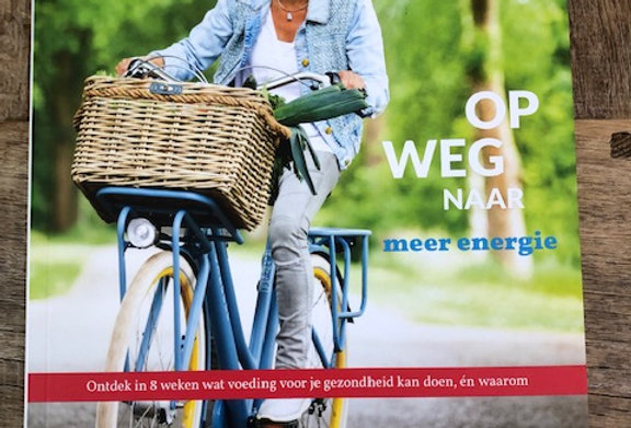 """Op weg naar meer energie"" Rineke Dijkinga"