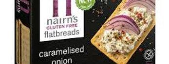 Nairns flatbreads caramelised onion 150gr