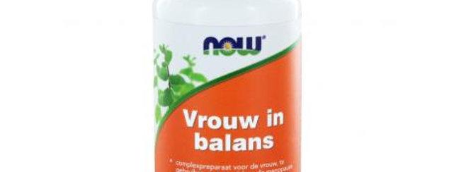 Vrouw in Balans 90 capsules NOW