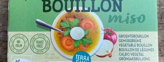 TerraSana groentenbouillonblokjes zonder gist