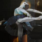 Tanz/ dance IV  63 x 74 cm, Collage, 2019
