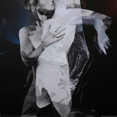 Tanz/ dance X 80 x 60 cm, Collage, 2020   (nach einer Fotografie von Connie Imboden)
