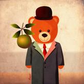 Cubof Bear Digital Illustration, 2021