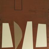 Untitled, 2021 Acrylic on canvas, 40 x 50 cm  (Nr 12)