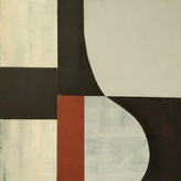 Untitled, 2021 Acrylic on canvas, 40 x 50 cm  (Nr 06)