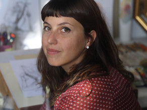 Artist and her yogic way of life
