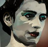 Ohne Titel/ Untitled IX (Kopfstudie/ head study) 29,5 x 21 cm, Collage, 2021