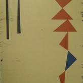 Untitled, 2021 Acrylic on canvas, 40 x 50 cm  (Nr 09)