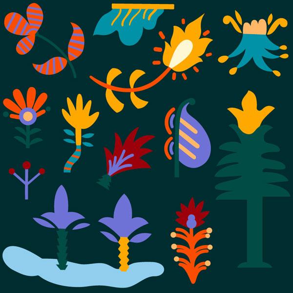 folk plants