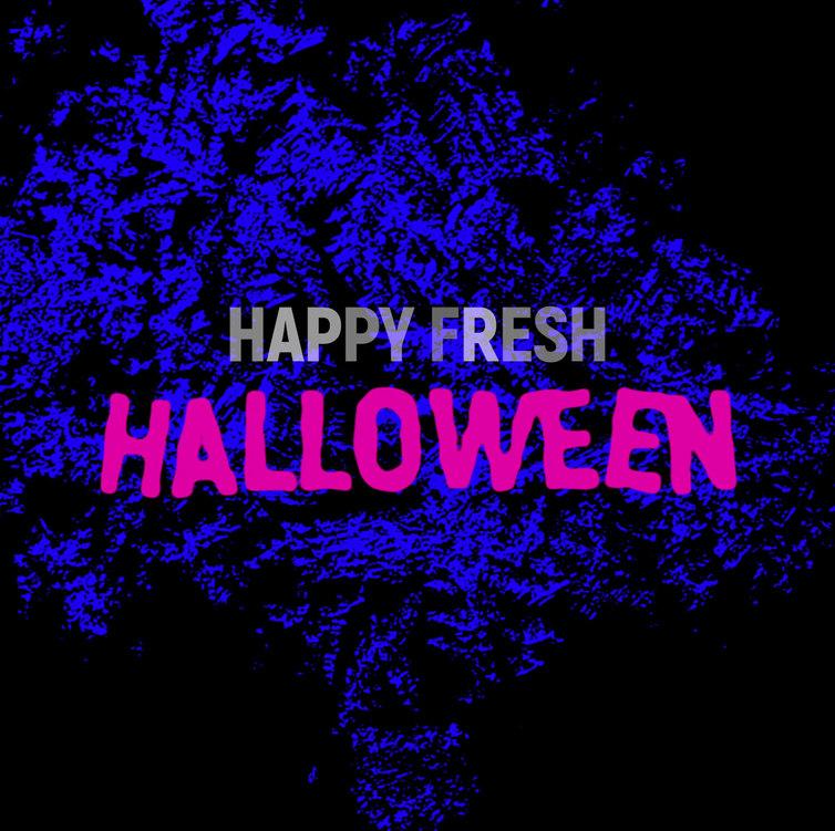 Happy fresh halloween
