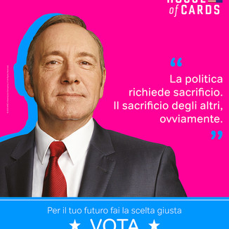 House of cards - Now Tv - Campaign