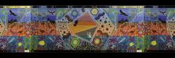 Indigenous, artwork, range to range