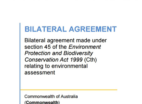New EAGs and the Assessment Bilateral Agreement
