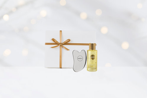 Hayou Body Restorer and Body Oil, Christmas set