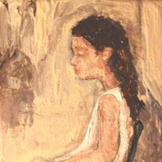 A Child Sitting