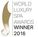 2016 Spa Awards Winner Logo (Black Text)