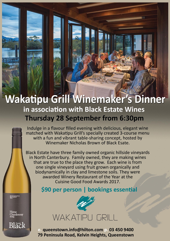 black estate winemaker's dinner | thekvc