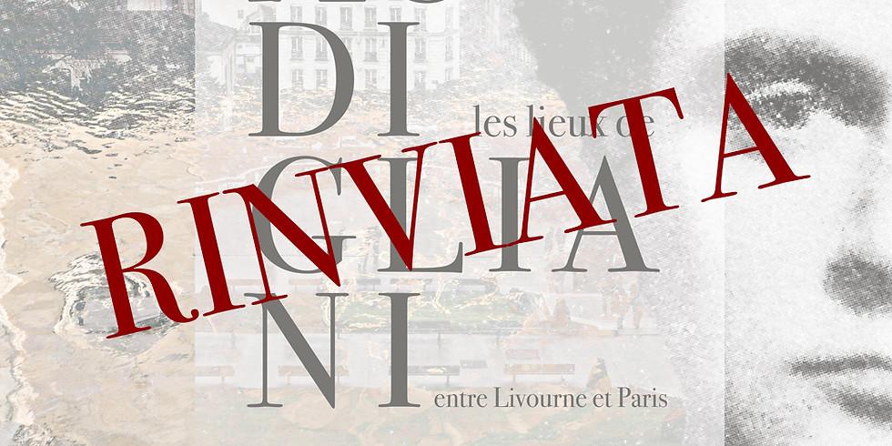 Les lieux de Modigliani entre Livourne et Paris