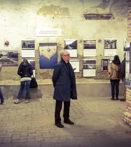 Mostra Palazzo delle Palle di Marmo Livorno (2015)