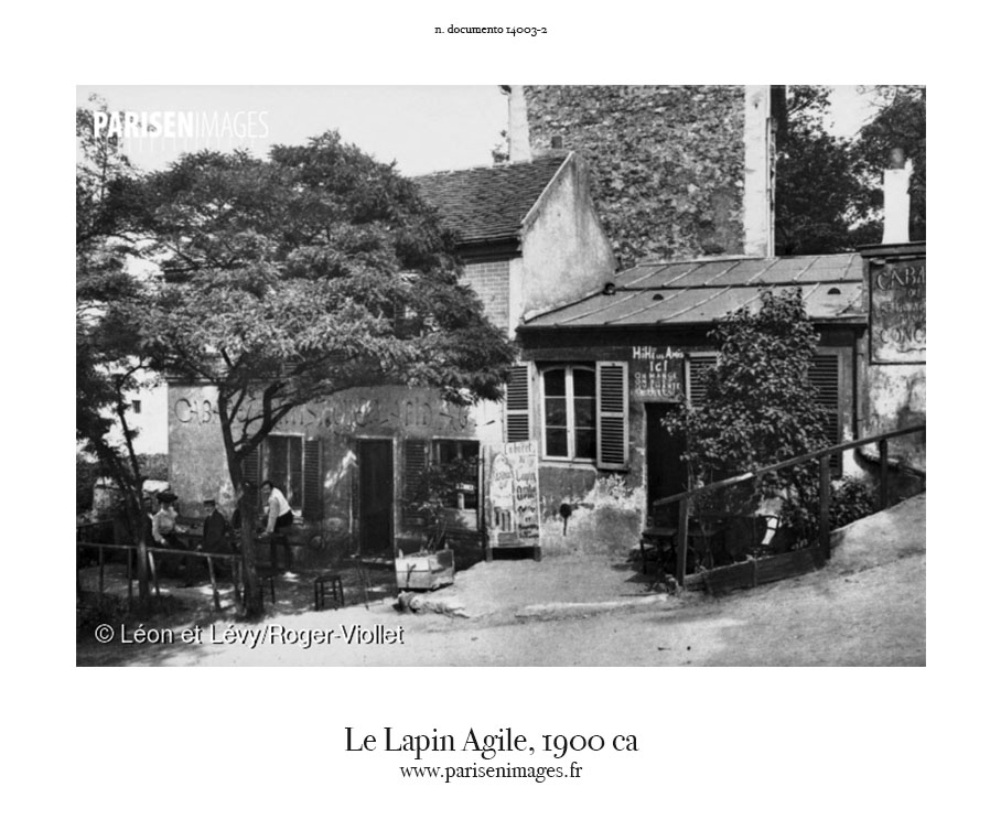 Rue des Saules Lapin Agile 1905