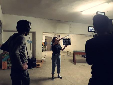 Terminate le riprese del cortometraggio. Ecco il backstage.