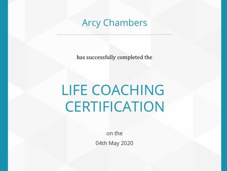 Life coach Certificate!