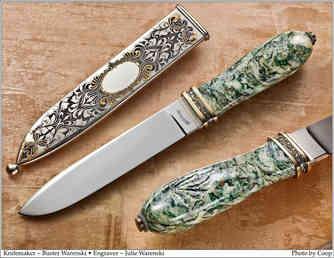 Нож / Бастер Варенски / Buster Warenski knife / USA