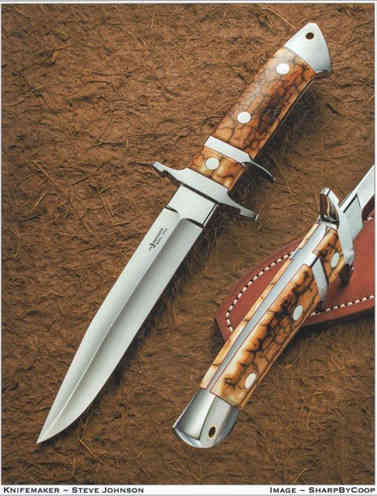 Нож / Стив Р. Джонсон / Steve R.Johnson knife / USA