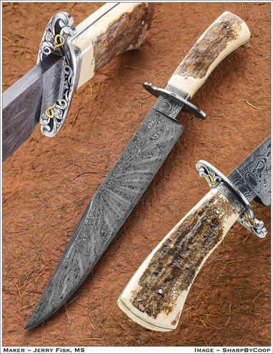 Нож / Джерри Фиск / Jerry Fisk knife / USA