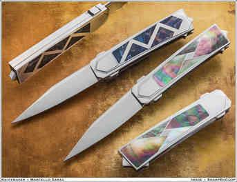 Нож / Марчелло Гарау / Marcello Garau  knife / Italy