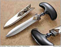Нож / Бастер Варенски / Buster Warenski Push Dagger / USA