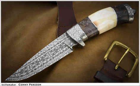 Нож / Конни Перссон / Conny Persson knife /  Sweden
