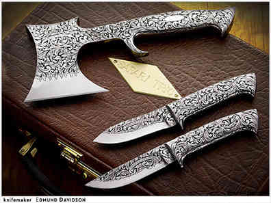 Нож / Эдмунд Дэвидсон / Edmund Davidson knife /  USA