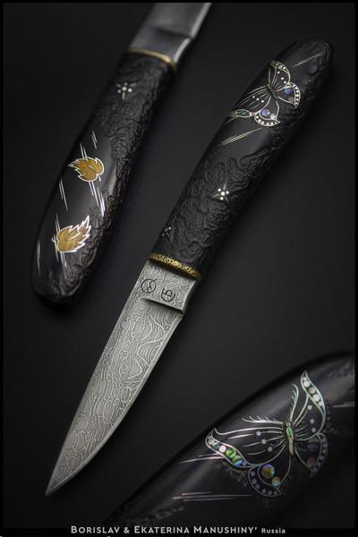 """Художественный нож """"До встречи"""", 2012 / Art knife """"So long"""""""