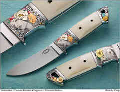 Нож / Дитмар Кресслер / DietmarKressler  knife  /  Germany
