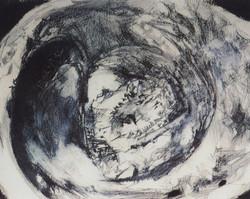 Набросок картины Врубеля