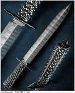 Нож / Рон Ньютон / Ron Newton knife / USA