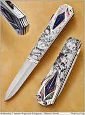 Нож / Антонио Фогариззу /  Antonio Fogarizzu knife /  Italy