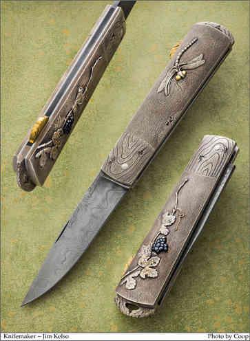 Нож / Джим Келсо / Jim Kelso  knife /  USA