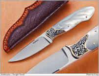 Нож / Дуайт Л.Тауэлл / Dwight Towell  knife /  USA