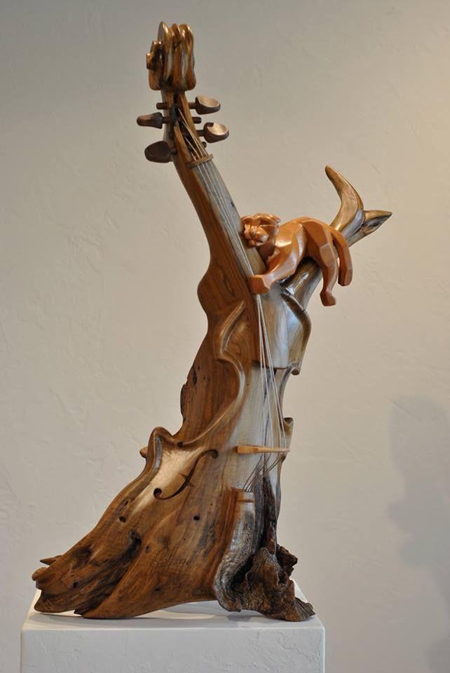 Древесина: driftwood, Орех, Махагони