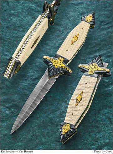 Нож / Ван Барнет / Van Barnett  knife /  USA