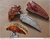 Нож / Ларри Фюген / Larry Fuegen Push Dagger / USA