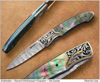 Нож / Ховард Хичмаф / Howard Hitchmough knife / USA